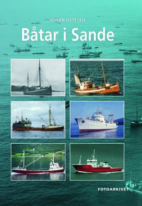 Båtar i Sande - omslag